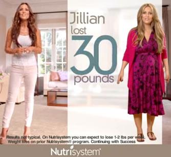 Nutrisystem Jillian Reynolds